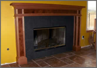 ... Mantel Style   Mission Style Mantels ...